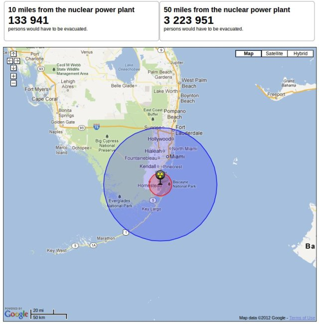 Image: Image: Turket Point Nuclear Plant Evacuation Zone